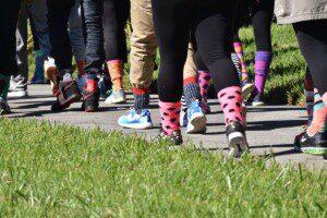 Crazy Socks at the Crazy Sock Walk 2016