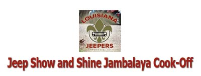 Jeep Show and Shine & Jambalaya Cook-Off