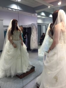 Wedding dress shopping with CRPS RSD can be challenging. Sammie has tips to make wedding dress shopping easier when you live with chronic pain.