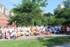2014 RSDSA walk in Central Park New York City