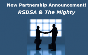 RSDSA and The Mighty have partnered up to help bring more CRPS RSD awareness to the world.