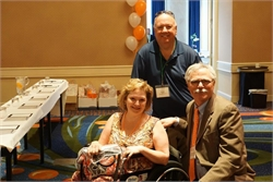 CRPS Warrior Beth who is a member of the Long Island Walk committee