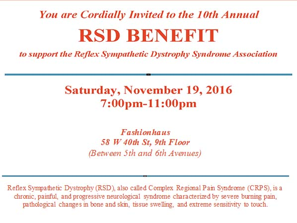 10th Annual RSD Benefit at Fashionhaus