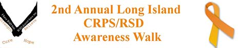2nd Annual Long Island CRPS/RSD Awareness Walk