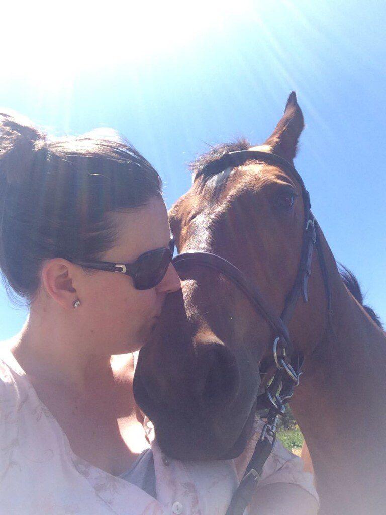 Kelly Hodgkins Horse CRPS
